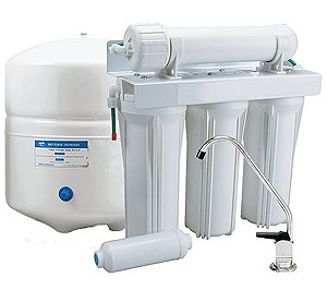 Pumped Reverse Osmosis Water Filter